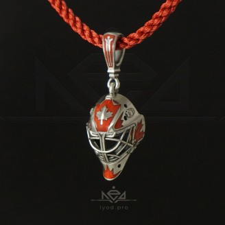 GOALIE MASK pendant team Canada